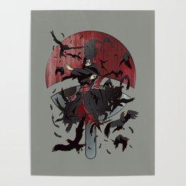 Itachi Uchiha Jutsu Poster
