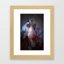 The Murder Queen Framed Art Print