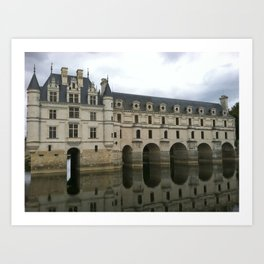 Chateau de Chenonceau 2 Art Print