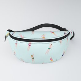 Swimmers in the pool Fanny Pack
