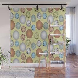 Easter eggs pattern Wall Mural
