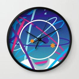 Mister Galaxo vs The Neons Wall Clock