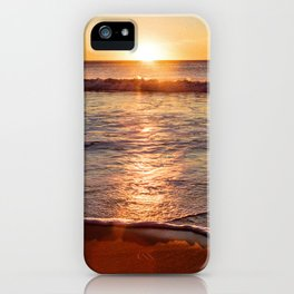 Sunset on the Big Blue iPhone Case