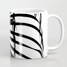 Palm Leaf Silhouette Coffee Mug