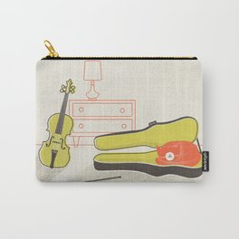 Cat & Violin Carry-All Pouch