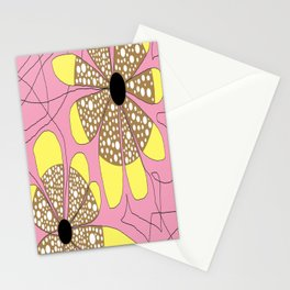 FLOWERY  LEA / ORIGINAL DANISH DESIGN bykazandholly Stationery Cards