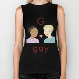 G is for Gay Biker Tank