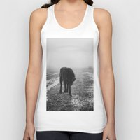 silence of the lambs Tank Tops featuring silence by Rachel Lauren