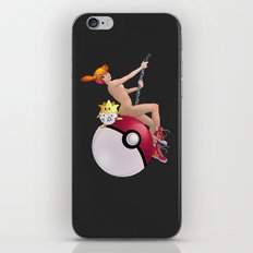 Misty on a Wrecking Ball iPhone & iPod Skin