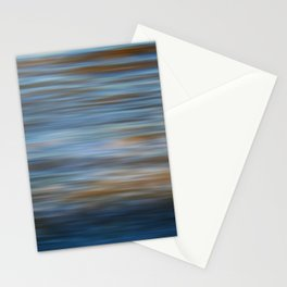 Ripples in water natural pattern Stationery Cards