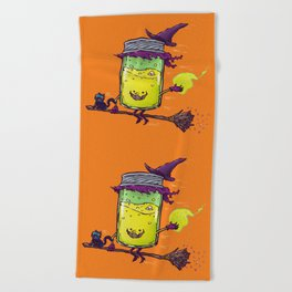 The Witch Jam Beach Towel