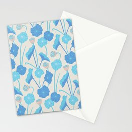 LOTUS POND Pattern Stationery Cards