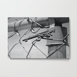 Tiny Toy Guns Metal Print