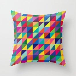 Geometric Pattern #7 Throw Pillow