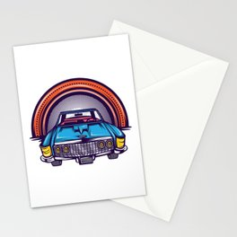 Are You A Vintage Person? Car Lover? Here's A Detailed Design Of  Muscle Car T-shirt Design Stationery Cards