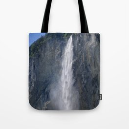Lauterbrunnen Waterfalls. Alps. Switzerland Tote Bag