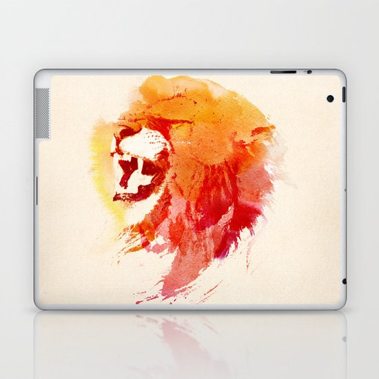 Angry Lion Laptop & iPad Skin