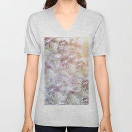 Dandelion Sunrise Unisex V-Neck