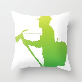 Creative Acre Foundation (CAF) Support Throw Pillow