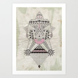 Dirty Inca Art Print