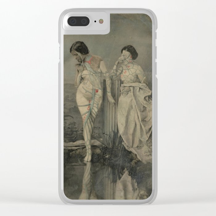 NUDES Clear iPhone Case