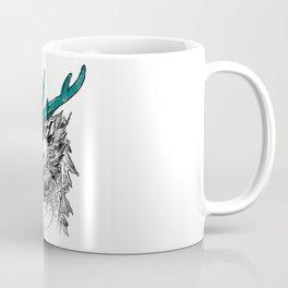Hand Painted Dragon Coffee Mug