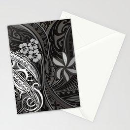 Samoan - Hawaiian - Polynesian Tribal Threads Stationery Cards