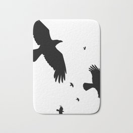 A Murder Of Crows Bath Mat