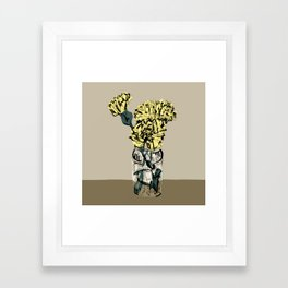 Carnation Still Life Framed Art Print