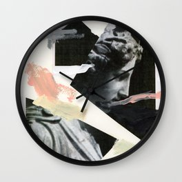Untitled (Painted Composition 3) Wall Clock