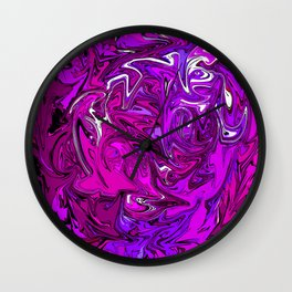 The Many Mysteries of Purple Wall Clock