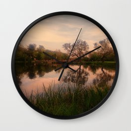 Embrace the Autumn Wall Clock