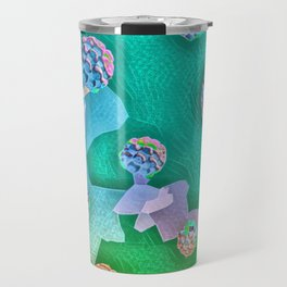 Frozen Ivy Berries. Travel Mug