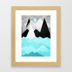 Candyland - Minty fresh Framed Art Print