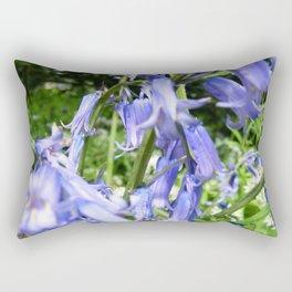 Bluebells //// Rectangular Pillow