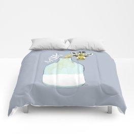giraf milk Comforters