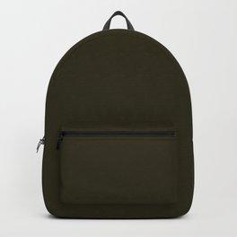 Home Sweet Home ~ Dark Olive Green Backpack
