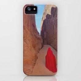 Portrait in Red | Arches VIIII iPhone Case