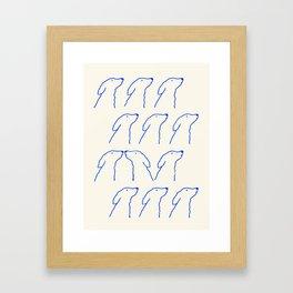 A Love Story Framed Art Print