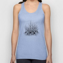 Pyramidal Neuron Forest Unisex Tank Top