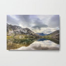 Lake Enol Metal Print