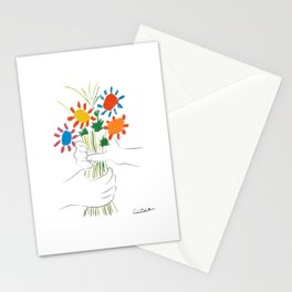 Le Bouquet Pablo Picasso Stationery Cards