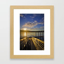 Ready To Launch Framed Art Print