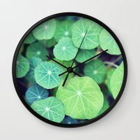 the life aquatic Wall Clocks featuring Aquatic Life by BURNEDINTOMYHE∆RT♥