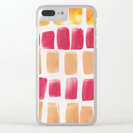 25 | 190321 Watercolour Abstract Painting Clear iPhone Case