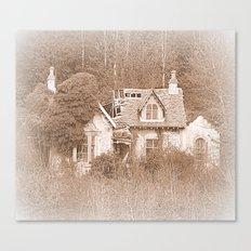 Derelict House Canvas Print