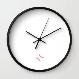 What Offseason? Funny Baseball T-Shirt Wall Clock