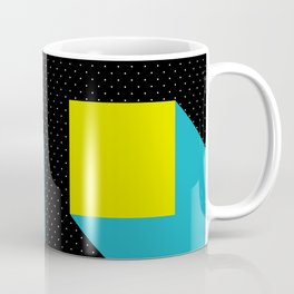 Floating Parallelepipeds in a Black Space Coffee Mug