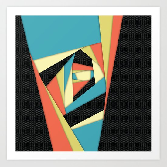 Layers of Color Art Print