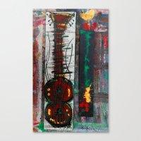 reggae Canvas Prints featuring reggae six by songs for seba